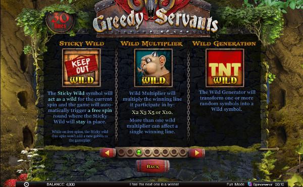Игральный автомат Greedy Servants в ТОП качестве - на сайте Frank Сasino