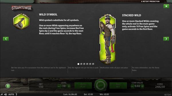 Игровой автомат Steam Tower - играть в казино Вулкан Россия онлайн