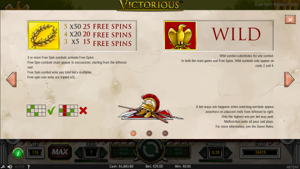 Игровой автомат Victorious - играть на рабочее зеркало Joycasino казино