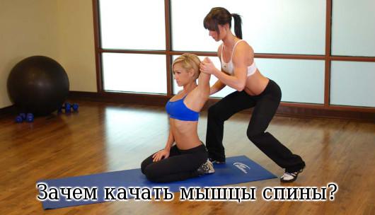 качать мышцы спины