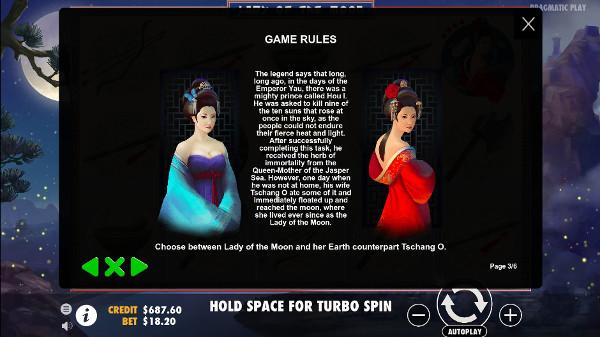 Ощутите азарт на слоте Lady of the Moon в премиум качестве. Заходите на gaminator и наслаждайтесь ТОП игрой