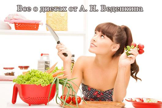 Все о диетах от А. И. Веденкина